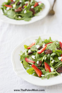 Strawberry Arugula Salad-030