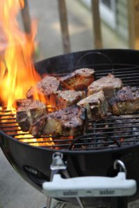 Winter Savory Garlic Lamb Chops from The 30 Day Guide to Paleo Cooking