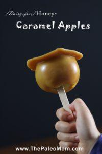 Three-Ingredient (Dairy-Free) Honey-Caramel Apples | The Paleo Mom
