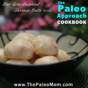 Har Gow-Inspired Shrimp Balls from The Paleo Approach Cookbook