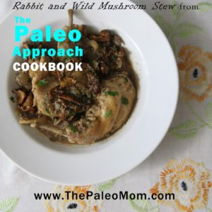Rabbit Stew from The Paleo Approach Cookbook