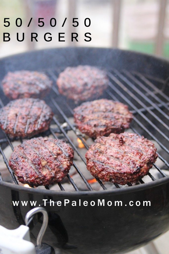 50-50-50 Burgers | The Paleo Mom