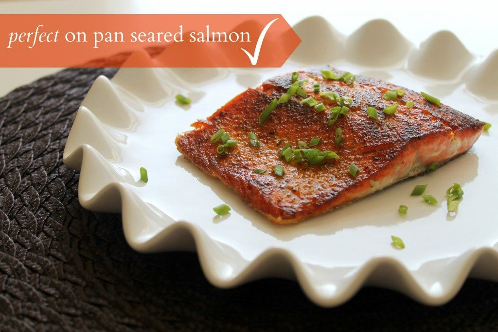 perfect on salmon