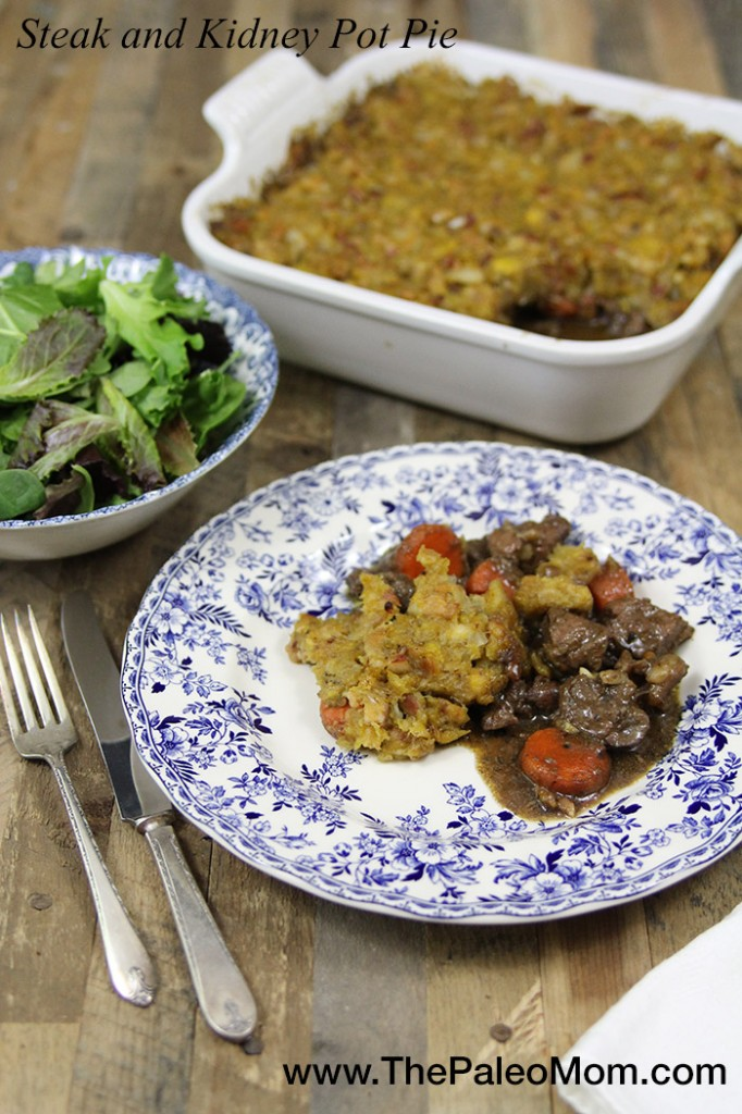 Steak and Kidney Pot Pie