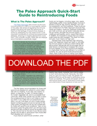 Reintroducing Foods Preview