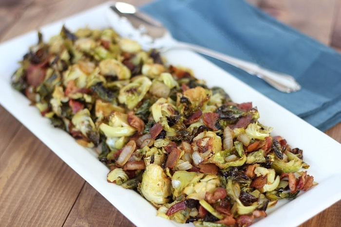 Balsamic bacon brussel sprouts_1