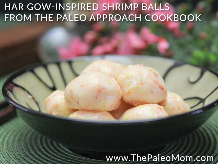 Har Gow Inspired Shrimp Balls