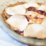 Cranberry Apple Pie (AIP Friendly)