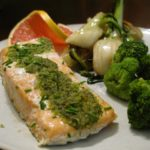 Parchment Salmon w/ Herb Butter