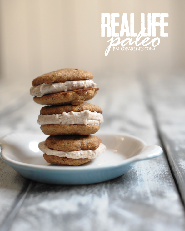 Snicker Doodle Whoopie Pies from Real Life Paleo by Paleo Parents