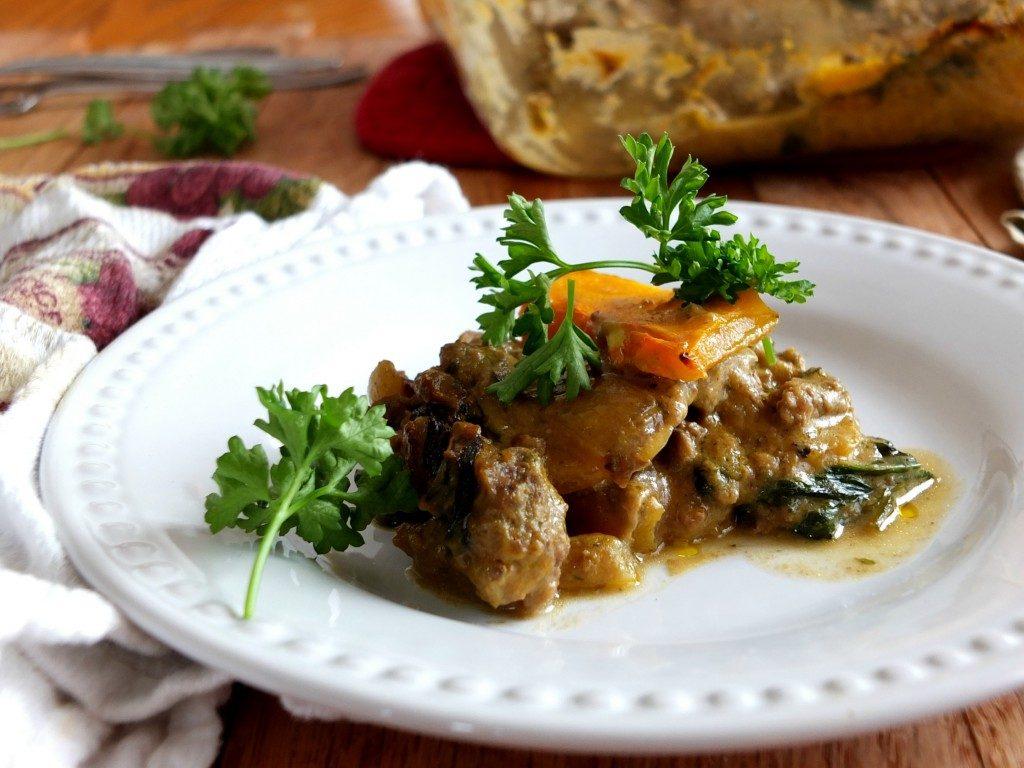Butternut squash lasagna 2