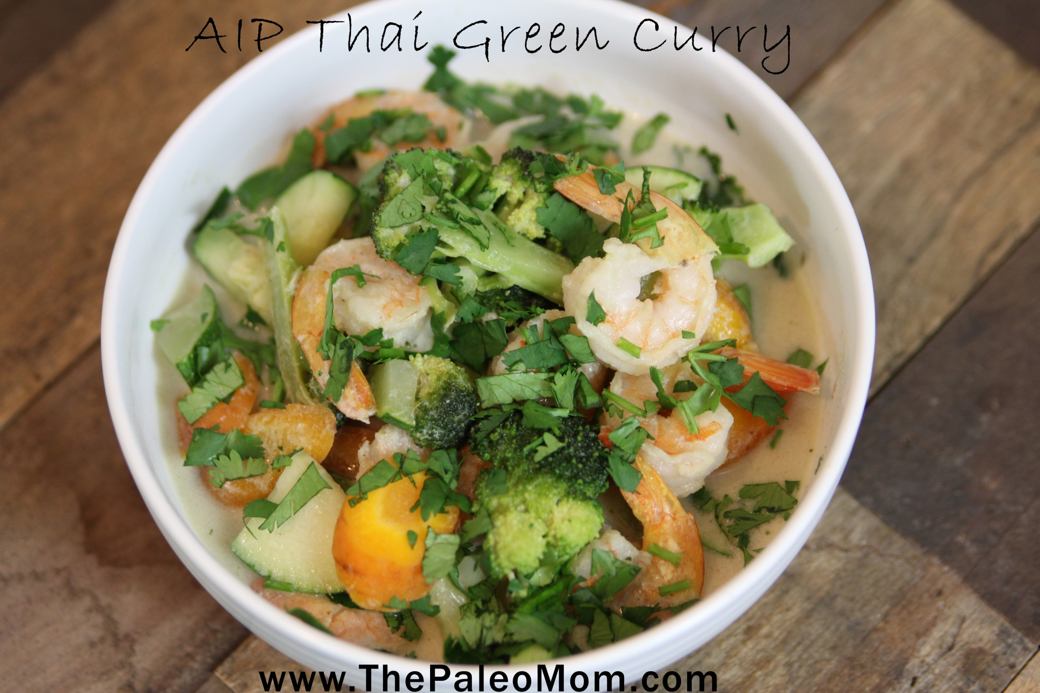 AIP Thai Green Curry