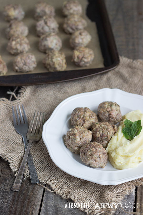 Sage and Fennel Meatballs 03