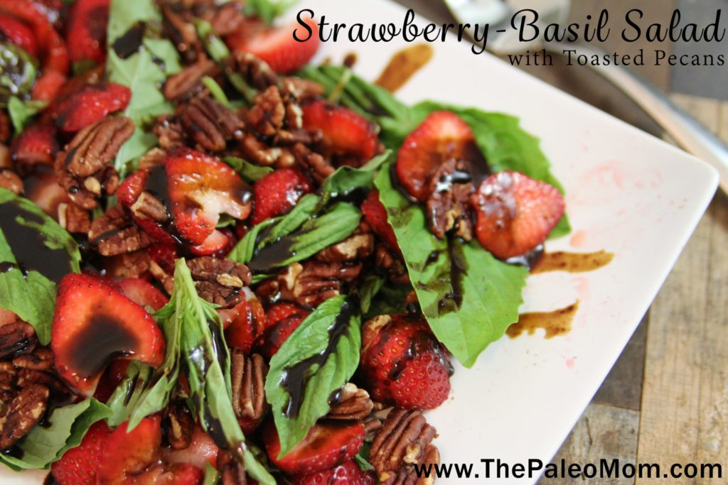 Strawberry-Basil Salad