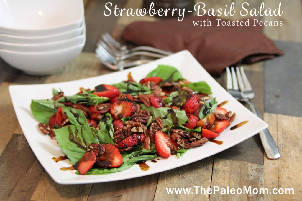Strawberry-Basil Salad 2