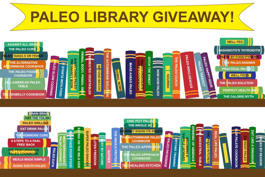 Paleo Bites Library Giveaway