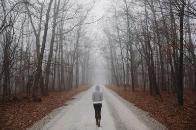 walk alone image