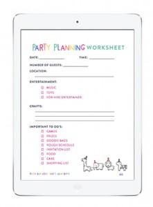 Birthday-Party-iPad-Worksheets
