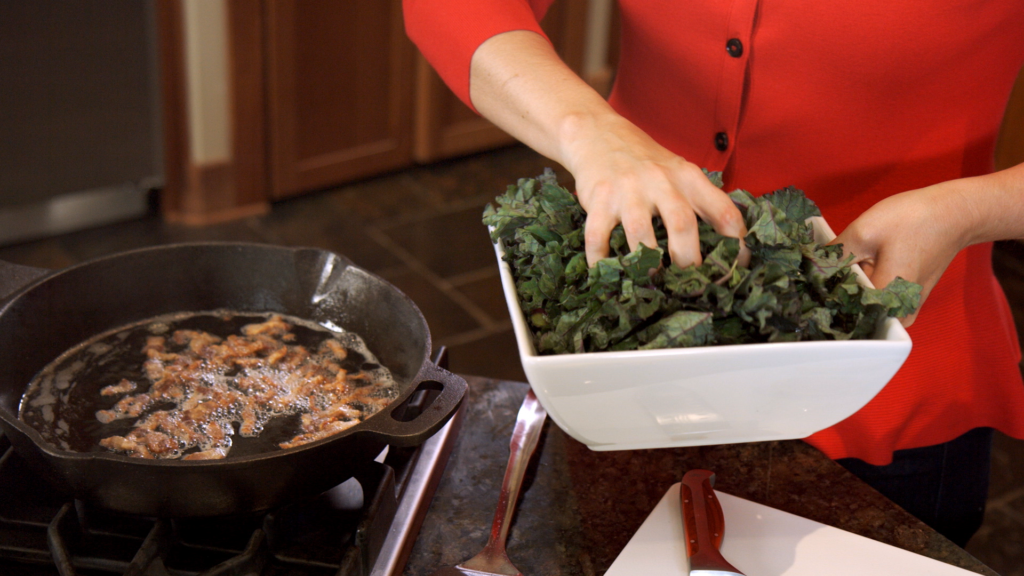 kale-about-to-go-on-bacon-kitchen