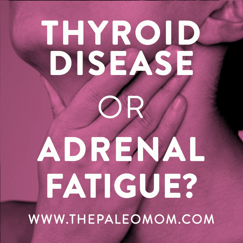 thyroid disease or adrenal fatigue