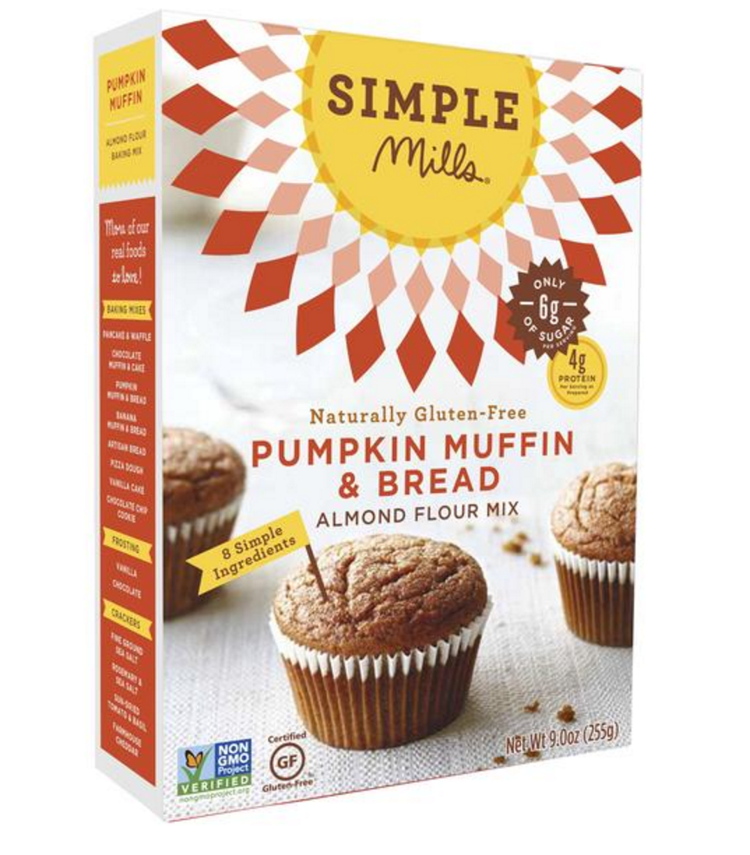 simple mills pumpkin muffin and bread
