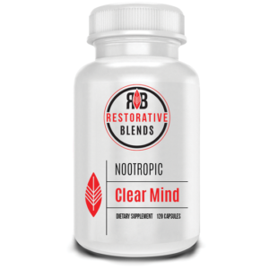 Clear Mind by Restorative Blends contains only research-backed ingredients.