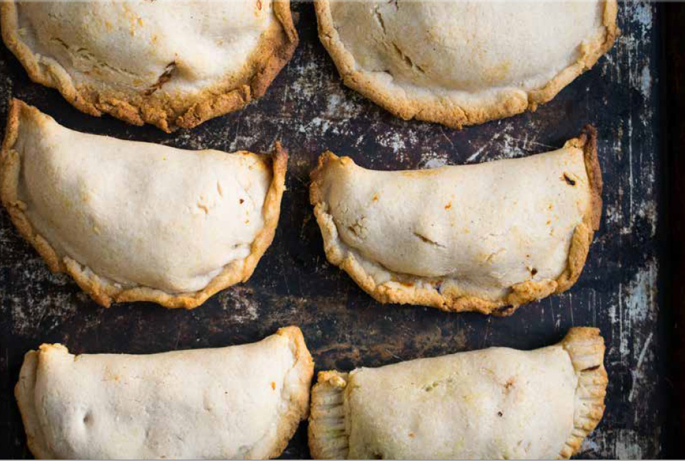 AIP Shredded Chicken Empanadas are one of 123 new AIP freezer meals from this new cookbook!