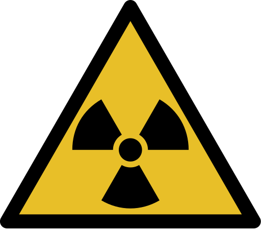 ionizing radiation symbol
