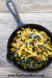 Curry Braised Kale and Cabbage-018 copy