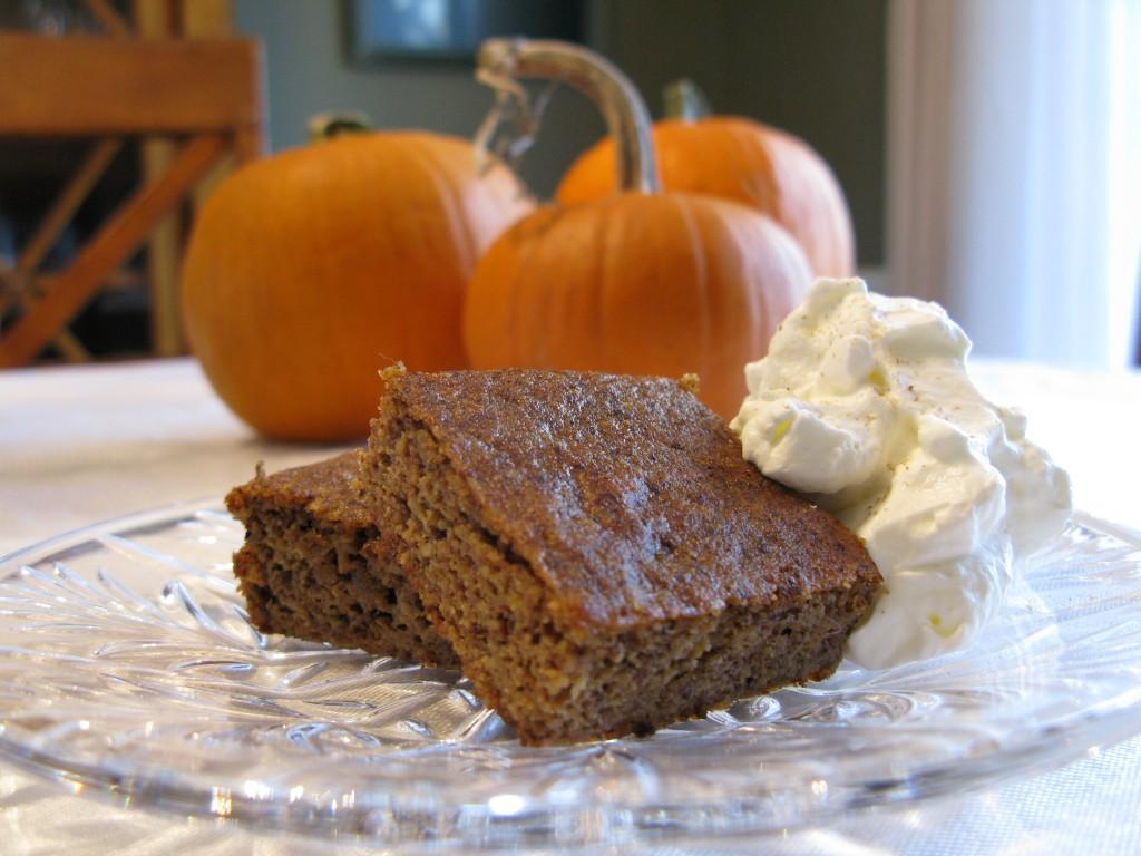 » Pumpkin Pie Squares
