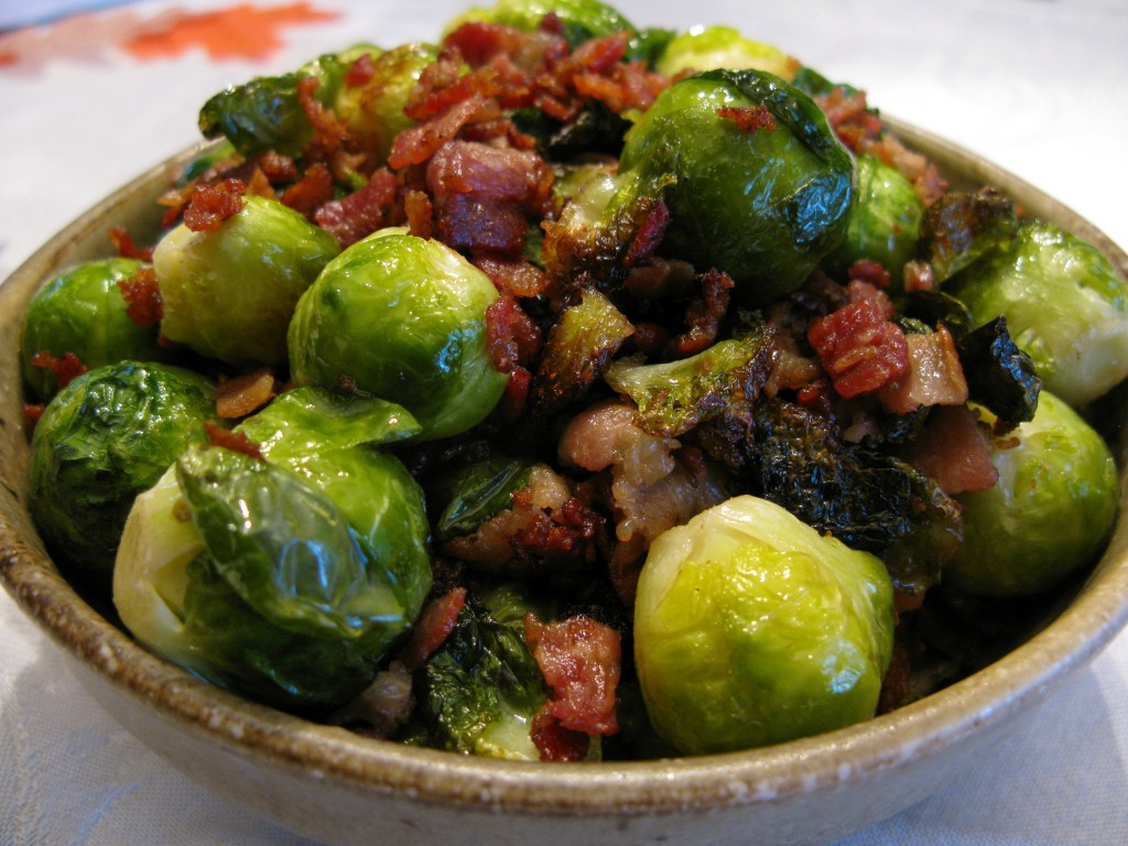 Brussels Sprouts With Bacon Recipes — Dishmaps