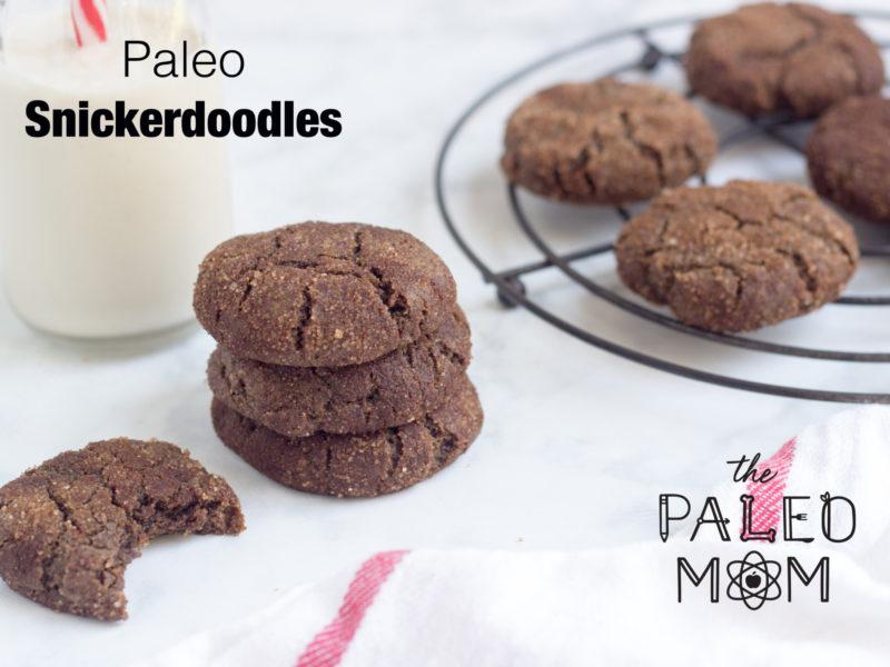 Paleo snickerdoodles