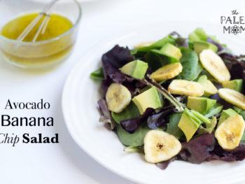 avocado banana chip salad
