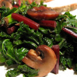 Braised Kale (three variations)
