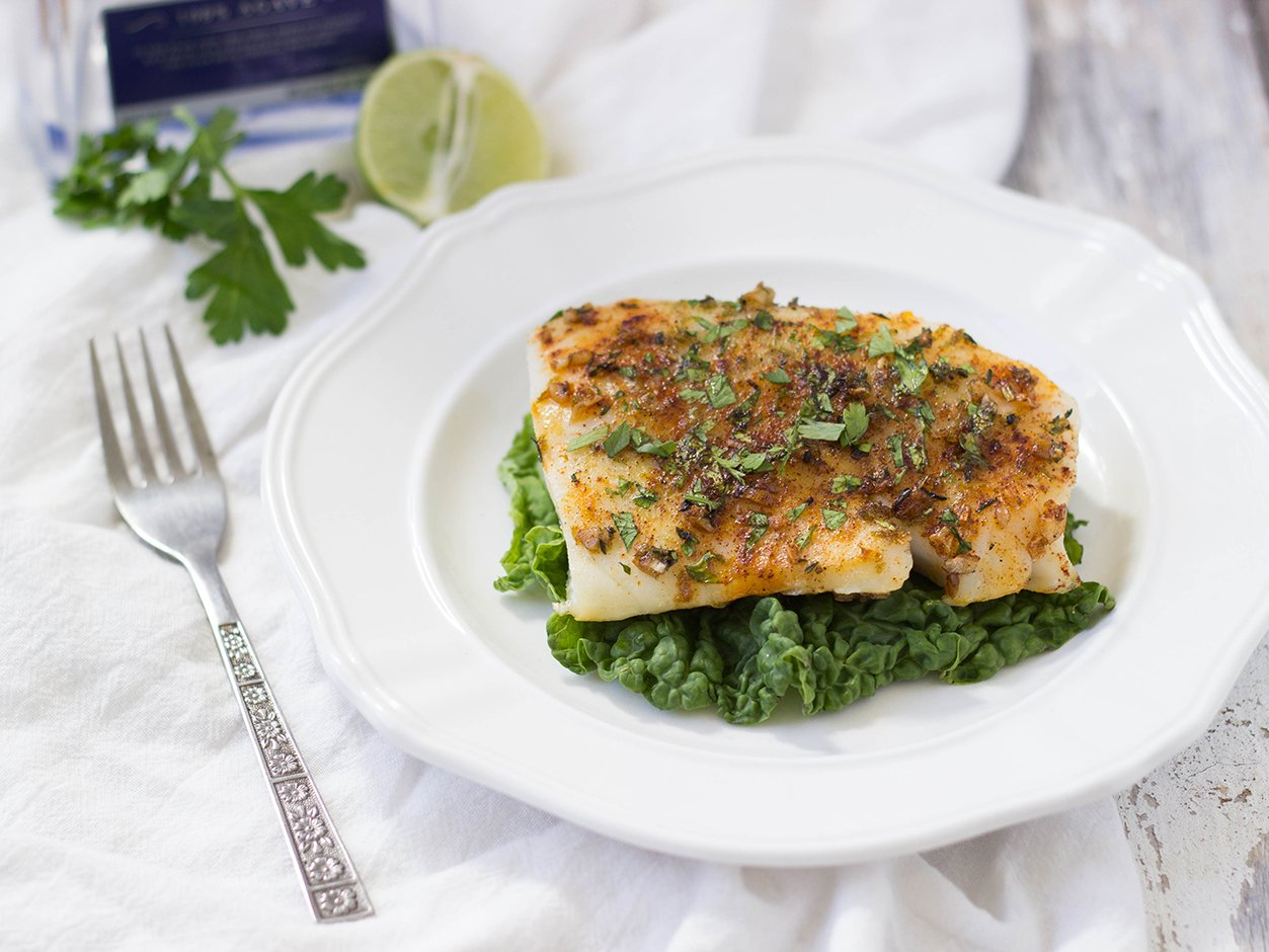 garlic margarita white fish