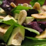 Avocado Banana Chip Salad