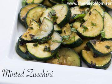 Minted Zucchini