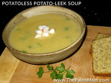 Potatoless Potato-Leek Soup