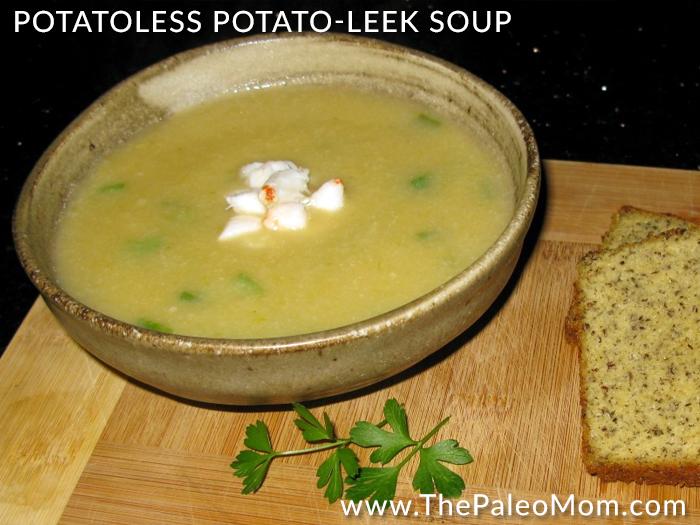 Potatoless Potato-Leek Soup
