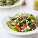 Strawberry Arugula Salad portrait