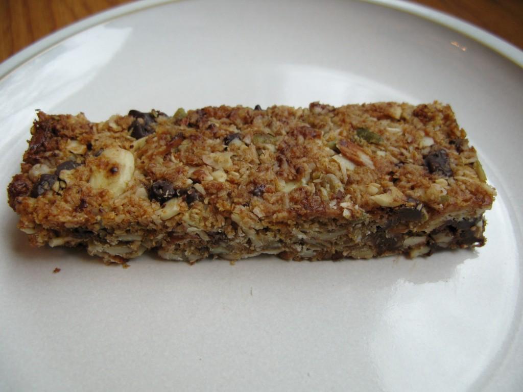 Paleo chewy granola bars
