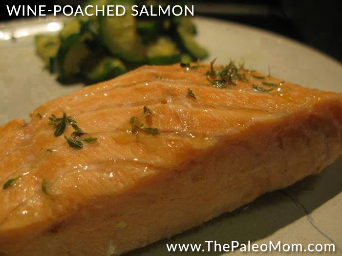 Wine-Poached Salmon