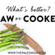 Learn the trade-offs of eating raw versus cooked vegetables