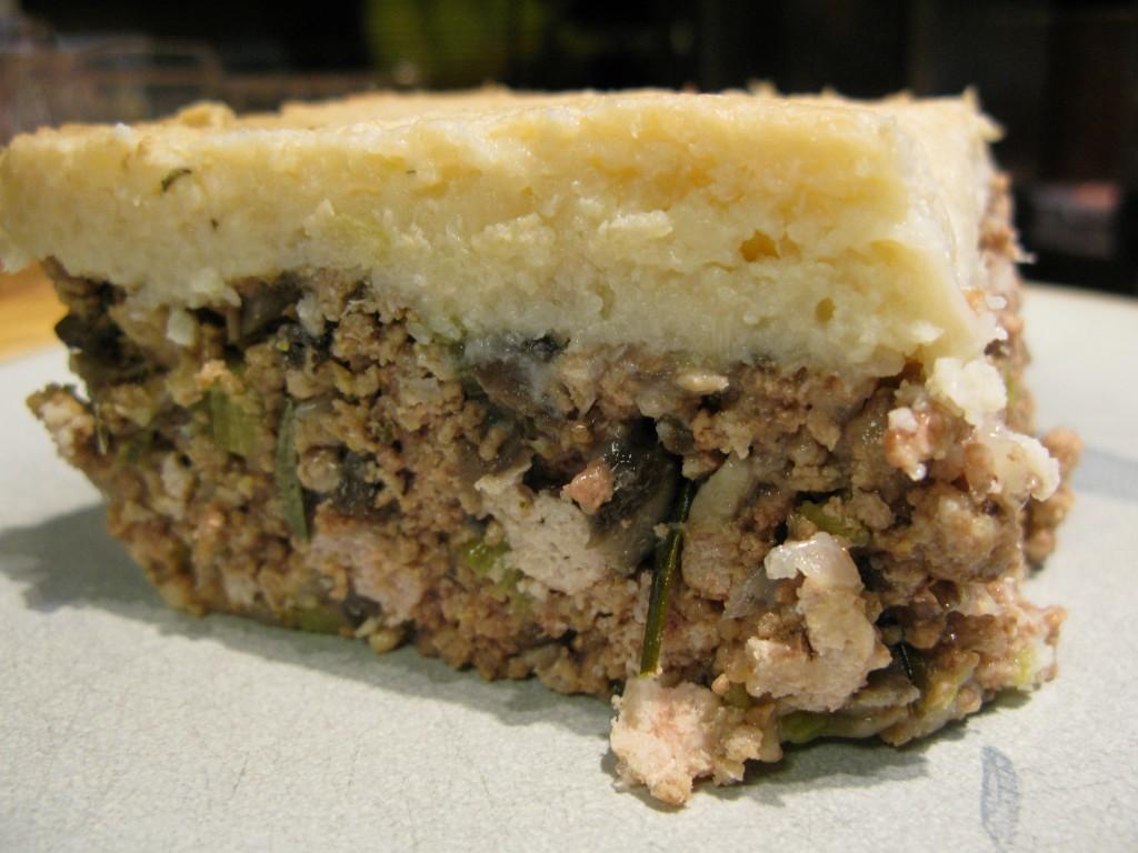 Tourtière-Inspired Shepherd's Pie