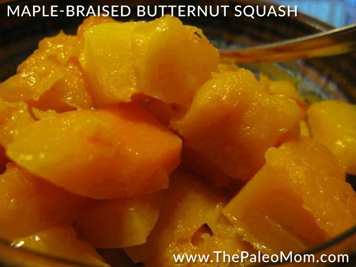 Maple Braised Butternut Squash