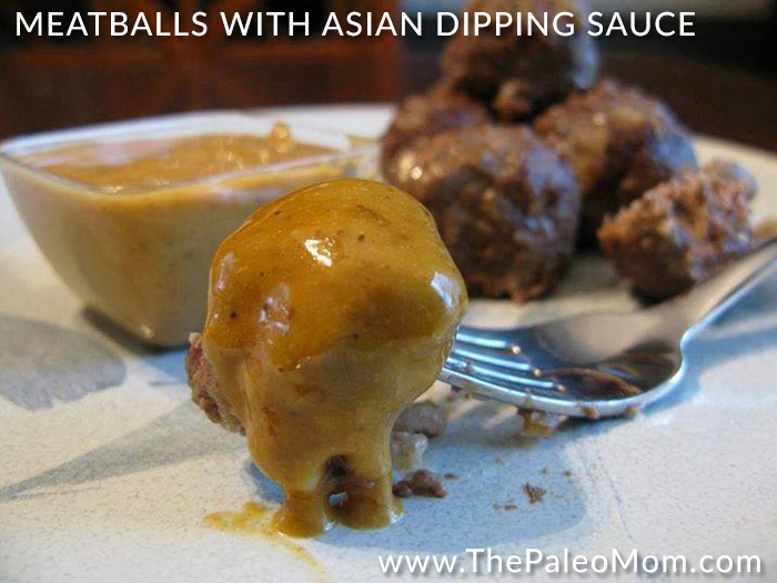 Meatballs with Asian Dipping Sauce