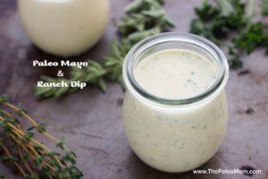 Paleo Mayo and Ranch Dip