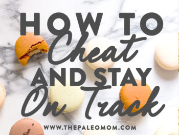 how to cheat and stay on track