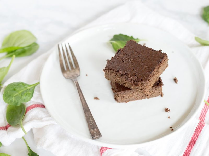 spinach sore leg brownies