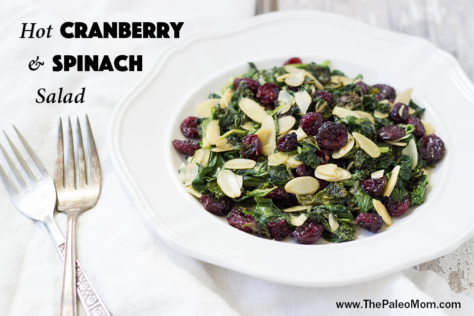 Spinach and Cranberry Salad-003